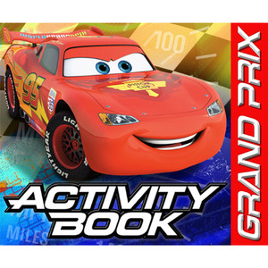 Cars Dream Party Activity Books