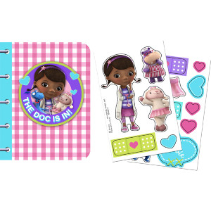 Disney Junior Doc McStuffins Sticker Notebooks