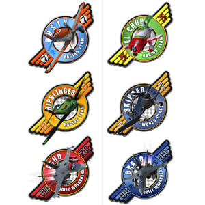 Disney Planes Temporary Tattoo Party Favors