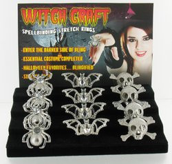 Halloween Witch Craft Stretch Ring