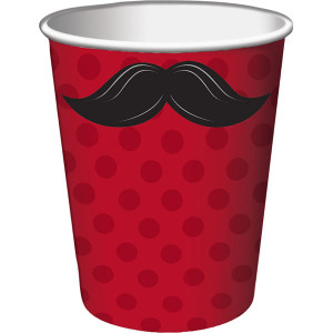 Mustache Madness Hot or Cold Beverage Cups