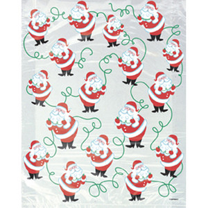 Santa Cello Bags 4 Pack