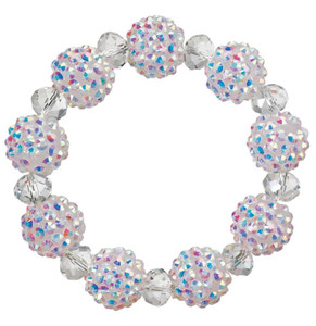 Snowball Glitz Stretch Bracelets