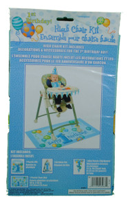 First Birthday Blue High-Chair Kit