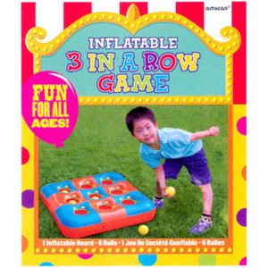 Inflatable 3 in a Row Game