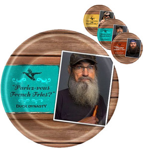 Duck Dynasty Dinner Plates 8 Pack