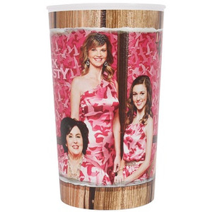 Duck Dynasty Girls Pink Camo 22oz Plastic Cup