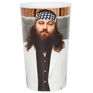 Duck Dynasty 22oz Willie Tumbler Cups