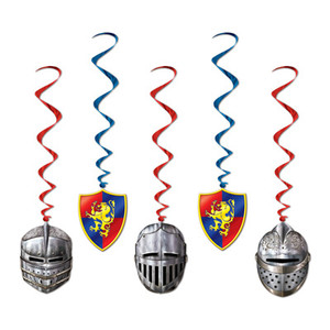 Medieval Whirls Party Accessory 5 Pack