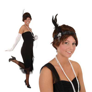 Flapper Headband Party Accessory