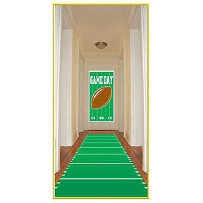 Sports Field Runner Poly with Double Stick Tape Party Accessory