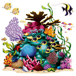 Coral Reef Photo Backdrop