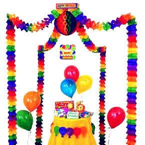 Birthday Party Canopy Decorating Kit