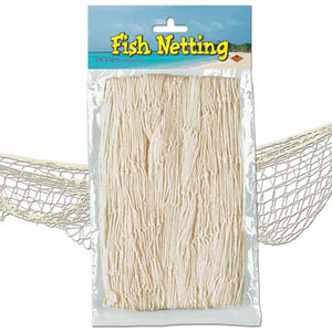 Decorative Fish Netting Natural