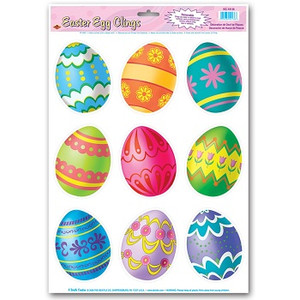 Easter Egg Clings Party Accessory