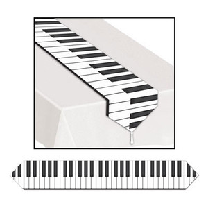 Piano Keyboard Table Runner