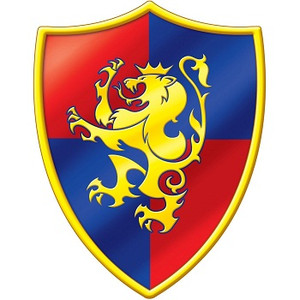Medieval Crest Cutout 16 Inches
