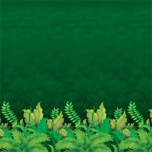 Jungle Foliage Photo Backdrop