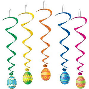 Easter Egg Whirls 5 Count