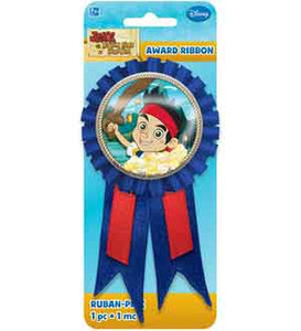 Jake and the Never Land Pirates Confetti Pouch Award Ribbon