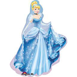 Cinderella Super Shape Foil Balloon