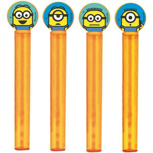 Despicable Me Bubble Tubs and Wands 4 Pack