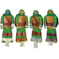 Teenage Mutant Ninja Turtles 3D Pull String Pinata