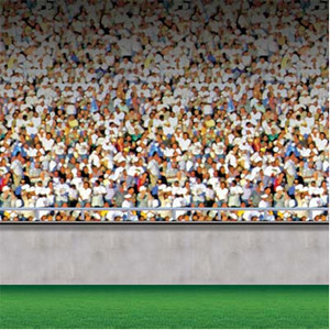 Lower Deck Stadium Backdrop Theme 4 Feet x 30 Feet