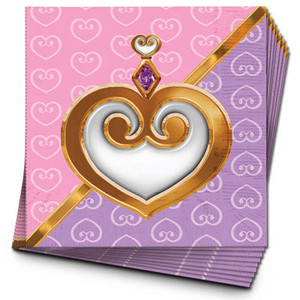 Princess Luncheon Napkins 16 Pack