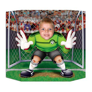 Sports Soccer Photo Prop