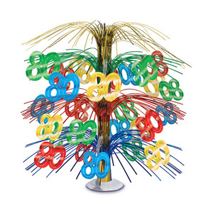 80th Cascade Centerpiece Party Accessory