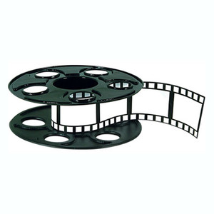 Movie Reel Filmstrip Centerpiece