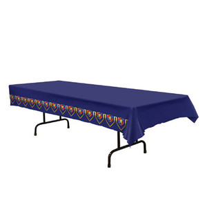 "Medieval Plastic Tablecover 54"" x 108"""