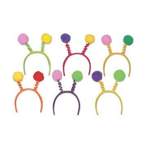 Soft-Touch Pom-Pom Boppers Party Accessory