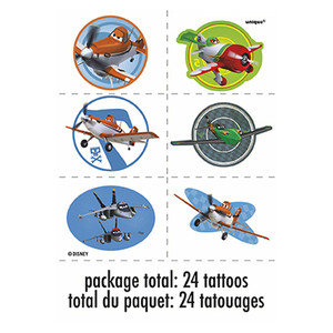 Disney Planes Temporary Tattoos 4 Pack