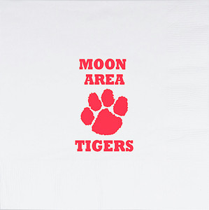 Moon Area Tigers Luncheon Napkins, 16 count