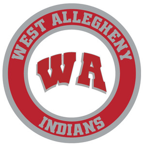 4-ft West Allegheny Indians Jointed Spirit Banner