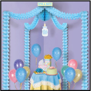 It's A Boy Party Canopy Party Accessory