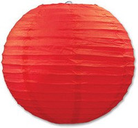Red Paper Lantern 3 Pack