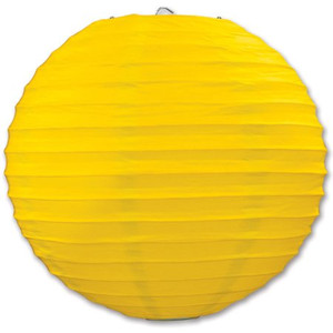 Yellow Paper Lantern 3 Pack