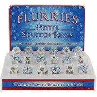 Flurries Kid Snow Flake Rings