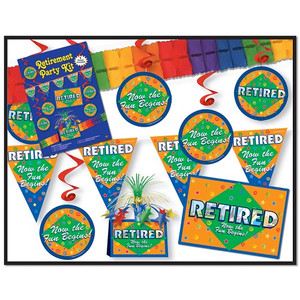 Retirement Party Kit Party Accessory