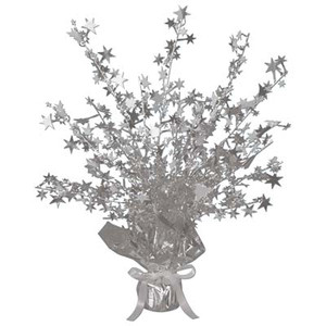 Silver Star Gleam 'N Burst Centerpiece