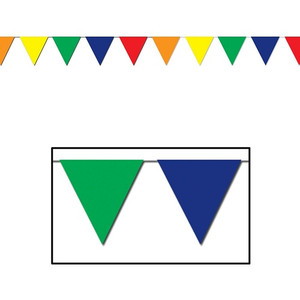 Outdoor Pennant Banner Multicolor