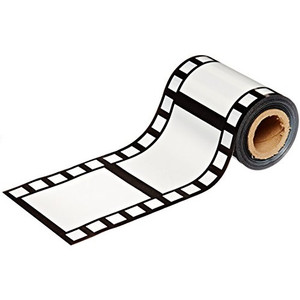 Filmstrip Poly Decorating Material Party Accessory