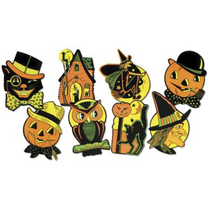 Packaged Halloween Cutouts