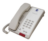 Bittel 38A Single Line Hotel Phone 0 Guest Service Buttons Cream