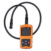 Borescope Portable Camera High Resolution Screen Bright LED 3.28' Gooseneck