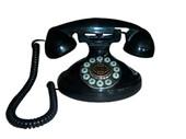 Christie 1921A Decorator Phone BLACK