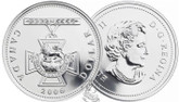 Canada: 2006 $1 150th Anniversary of the Victoria Cross BU Silver Dollar Coin